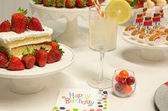 Mmmm strawberry shortcake goes perfectly with this theme! #CelebrateExpress #BirthdayParty