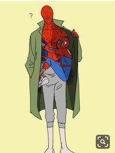 Read Imágen 29 from the story Imagenes de Spiderman (Miles Morales x Peter B. Marvel Funny, Marvel Memes, Marvel Dc Comics, Marvel Avengers, Ms Marvel, Captain Marvel, Spiderman Art, Amazing Spiderman, Spideypool