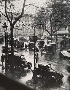 Boulevard Malesherbes, 1925 © André Kertész