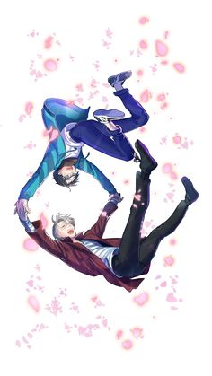 Yuri!!! on Ice  art by Amg @ Nwmnmllf