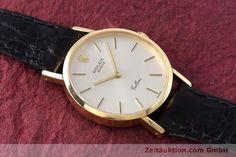 Rolex Cellini 18k Gold Handaufzug Kal. 1602 Ref. 4109    153714