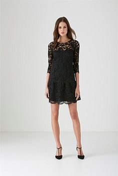 Totally LOVE this lace dress!