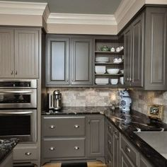 Awesome charcoal grey kitchen cabinets plus simple grey kitchen cabinets ideas kitchen colors