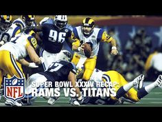 Super Bowl XXXIV Recap: Rams vs. Titans | NFL - YouTube