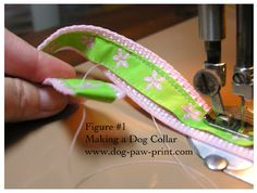 dog collar how-to (because there are some pretty ugly dog collars at the store so why not make your own?)