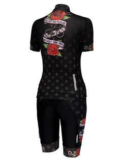 Pleasure and Pain women s cycling jersey and matching shorts from Cycology. Women s  Cycling Jersey 20ba02967