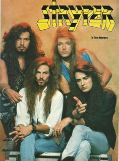 Stryper ~ Group Photo