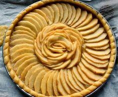 déco tarte aux pommes