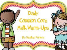Daily Common Core Math Warm-Ups