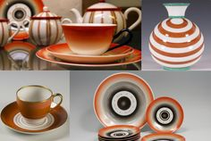 Nora Gulbrandsen for Porsgrund Porselen. Deco, Norway, Porcelain, Pottery, Clay, Tableware, Design, Art Deco, Ceramica