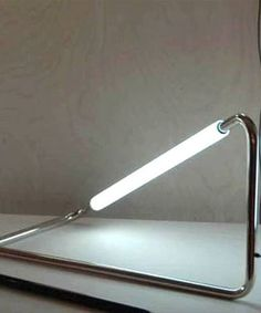 Steel LED Desk Lamp