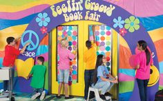 There's only one chance to make a first impression and middle schoolers know all about that! Have your Crew transform your Book Fair space into a far-out, book-laden haven.