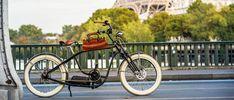 Royal Roadster at Bir Hakeim bridge Electric Bicycle, High Class, New Experience, Bridge, Motorcycle, French, Paris, Vehicles, Electric Push Bike