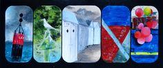 Acrylique sur bois #bretagne #mer #acrylique