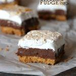 Smores+Fudge+Bars