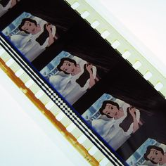 Beauty and the Beast Bookmark  Recycled 35mm Film