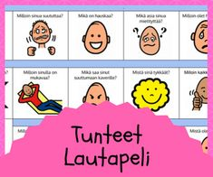 Tunnetaidot Early Childhood Education, Social Skills, Speech Therapy, Kids And Parenting, Vocabulary, Coaching, Preschool, Workshop, Science
