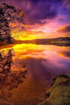 Sunrise National Park, Scotland