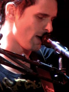 Matt Bellamy - Muse - Agganis Arena, Boston, Massachusetts USA (August 2007)