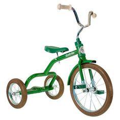 De Italtrike Classic Groen is een prachtige robuuste driewieler in retro-stijl. Met een in hoogte verstelbaar zadel. Alleen voor de allerstoerste kids vanaf 2 jaar | De oude speelkamer