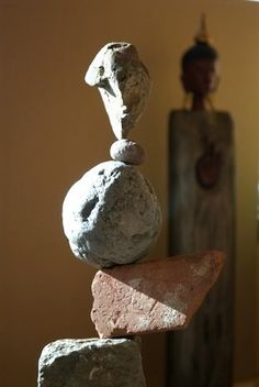 A Meditative Art: Upala Yoga Stone Sculpture (the stones are balanced only, not attached), an art cultivated around the world for 1000s of years. By Shane Hart