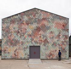 Здания с необычными фасадами, похожими на объекты современного искусства | Admagazine | AD Magazine