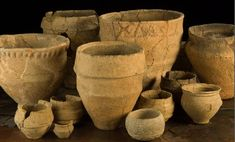 The Early Bronze Age pottery from the cemetery in the Mound of the Hostages at Tara, Co. Meath. From O'Sullivan 2005.