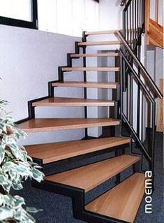 Resultado de imagem para escada de ferro em leque