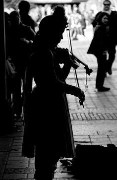 Violin busker- future job hopefully