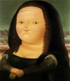 Mona Lisa. Botero.