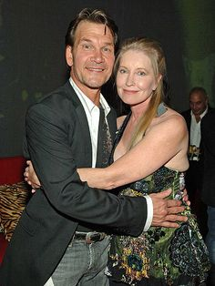 Patrick Swayze and his wife Lisa