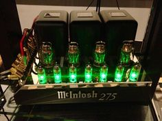 McIntosh MC275 Tube Amplifier available at Audio Visual Solutions Group 9340 W. Sahara Avenue, Suite 100, Las Vegas, NV 89117. The only McIntosh/Sonus Faber Platinum Dealer in Las Vegas, Nevada. Call for pricing (702) 875-5561