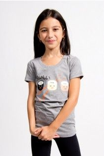 Sushi print graphic tee, girls, tweens, casual lifestyle, Joshua Perets