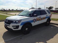 Galveston (TX) Police 2016 Ford Interceptor Utility
