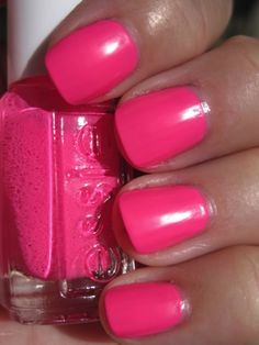 Love this color!!! Essie Pink Parka