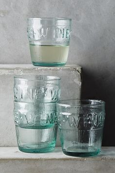 Imprint Wine Glass Set - anthropologie.com