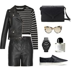 Leather Layers  http://cocochicblog.co.uk