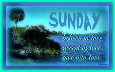 Sunday Believe