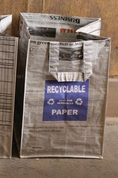 Reduce ~ Reuse ~ Recycle
