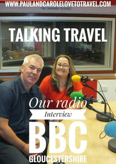 We were invited by DJ Anna King who had been following our travel blog to join her show and talk all things travel.