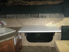How to Organize, Add Storage and Improve Life in a Truck Camper – Living Simply By Going Backwards Pickup Truck Camper Shell, Slide In Truck Campers, Truck Camper Shells, Truck Camping, Pickup Trucks, Rv Truck, Jeep Pickup, Camping Stuff, Cabover Camper