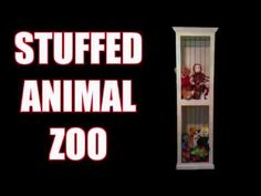 How To Make A Beautiful And Simple Stuffed Animal Storage – DIY CREATED