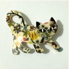 Laser Cut Acrylic, Girls Jewelry, My Collection, Dinosaur Stuffed Animal, Kittens, Embroidery, Fun Loving, Fused Glass, Animals