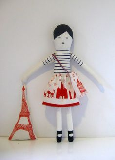 i love dolls.  good for inspiration.  really like the skirt.