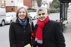 Campaigning with #Labour MP Sadiq Khan in Old Town, #Swindon