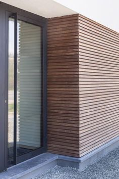 Amazing Timber Cladding Ideas to Spike up Your Building Design House Cladding, Timber Cladding, Exterior Cladding, Cladding Ideas, Wood Facade, House Extensions, House Front, Building Design, Exterior Design