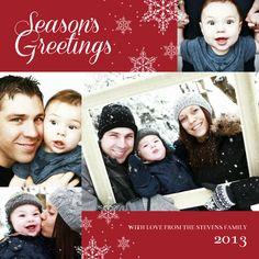 Season's Greetings Holiday Cards