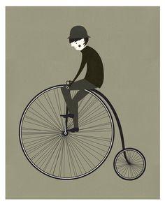 Monsiuer's Cycling Trip by Blanca Gomez