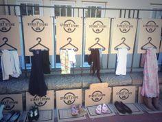 All the clothes in this pop-up store are completely free.  A great idea from Cape Town, where people donate clothes and shoes, which are sorted and displayed instantly for the homeless community to browse and take what they need.  You can also set up a Street Store in your own city - find out more here --> http://www.one.org/international/blog/the-clothes-store-where-everything-is-free/