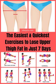 Burn Thigh Fat Fast With a Simple Daily Routine Workout That Includes The Best Exercises For You! Burn Thigh Fat Fast With a Simple Daily Routine Workout That Includes The Best Exercises For You! Training Fitness, Fitness Workouts, Fitness Motivation, Fitness Men, Fitness Logo, Fitness Design, Fitness Nutrition, Fitness Couples, Butt Workouts